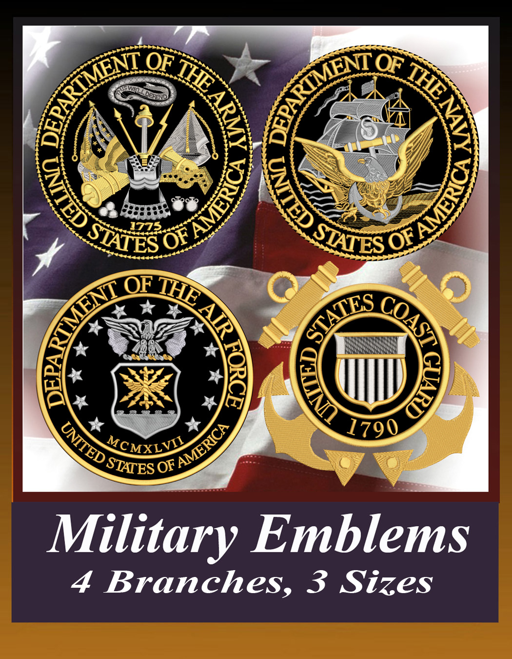 Military Emblem Package 2018